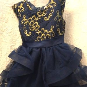 Girls Party Dress by Wonder Nation